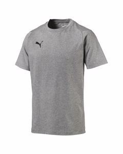 Liga Casuals Tee-655311 33 Medium Gray