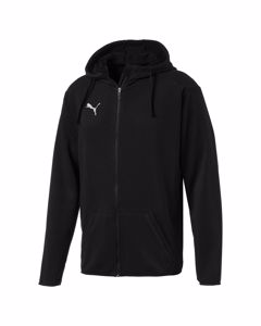 Liga Casual Hoody Jacket-655771 03 Puma Black-puma White