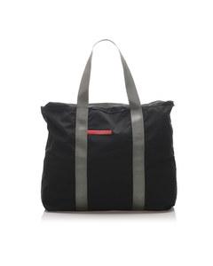 Prada Sports Nylon Tote Bag Green