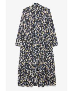 Maxi Shirt Dress Multi