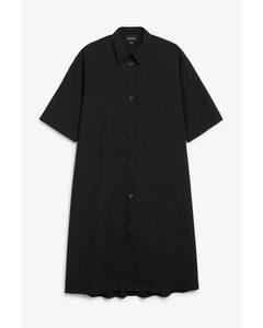 A-line Shirt Dress Black Magic