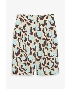 Soft Culottes Cheetah Print
