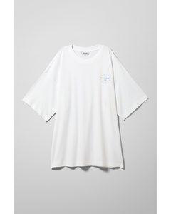 Huge Printed T-shirt White