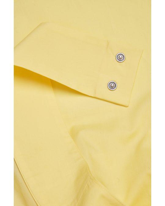 COS Sleeveless Cotton Dress Yellow