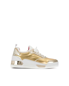 Christian Louboutin Aurelien Donna Leather Sneakers White