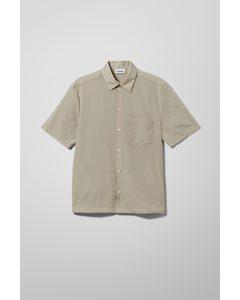 Marwin Nylon Shirt Beige
