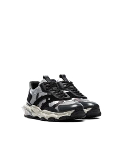 Valentino Bounce Camo Sneakers Gray