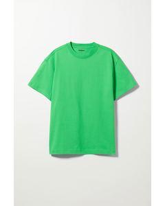 T-Shirt Oversized Knallgrün