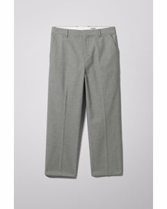Tucker Checked Trousers Black