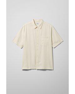 Randy Short Sleeve Shirt White