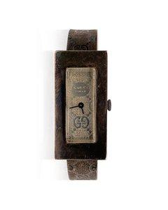 Gucci Vintage Sterling Silver Wrist Watch Bracelet Bangle Rare