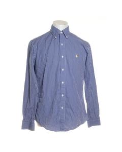 Polo Ralph Lauren, Buttondown-skjorta, Strl: M, Blå/vit, Bomull