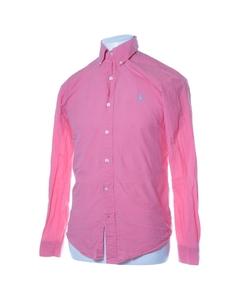 Polo Ralph Lauren, Buttondown-skjorta, Strl: S, Slim Fit , Rosa, Bomull