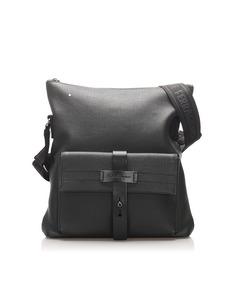 Ferragamo Leather Crossbody Bag Black