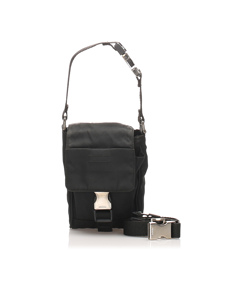 Prada Tessuto Belt Bag Black