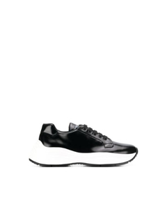 Prada Chunky Lace-up Sneakers Black