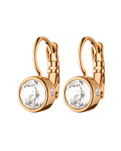 Tf Madu Rg Crystal Rosegold Tone Brass, Polished With Crystals