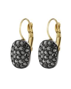 Jojo Gm Hematite Gunmetal Tone Brass, Handset Crystals