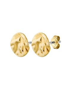 Naturi Shiny Gold Brass, Goldtone And Polished