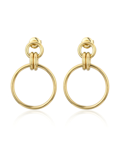 Link Earring Gold
