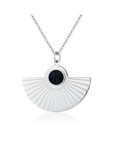 Skiathos Pendant Necklace B Silver