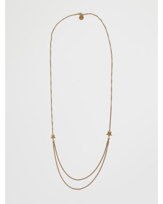 By Jolima Nova Chain Necklace G Gold