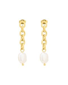Palma Chian Earring Gold