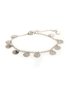 Coin Bracelet S Silver