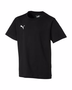 Liga Casuals Tee Jr Puma Black-puma White