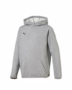 Liga Casuals Hoody Jr Medium Gray Heather