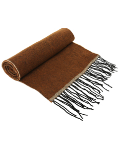 Asquith & Fox Unisex Two Tone Tassled Scarf