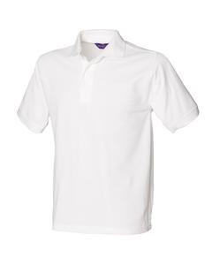 Henbury Mens Short Sleeved 65/35 Pique Polo Shirt