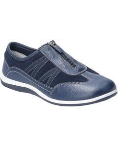 Fleet & Foster Womens/ladies Mombassa Leather Slip On Shoe
