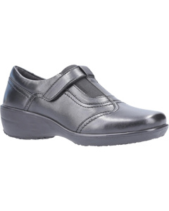 Fleet & Foster Womens/ladies Ethel Touch Fasten Leather Shoe