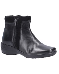 Fleet & Foster Womens/ladies Mona Zip Ankle Leather Boot