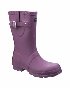 Cotswold Womens/ladies Windsor Short Waterproof Pull On Wellington Boots