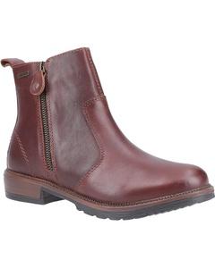 Cotswold Womens/ladies Ashwicke Zip Leather Ankle Boot