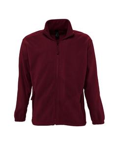 Sols Heren North Full Zip Outdoor Fleece Jacket
