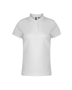 Asquith & Fox Womens/ladies Plain Short Sleeve Polo Shirt