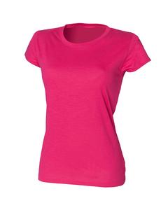 Skinni Fit langes Damen-T-Shirt