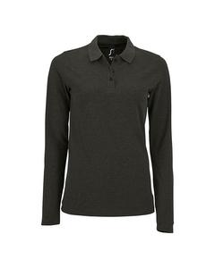 Sols Womens/ladies Perfect Long Sleeve Pique Polo Shirt