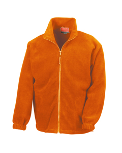 Result Herren Fleece-Jacke, Antipilling