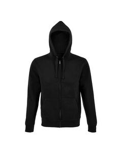 Sols Mens Spike Full Zip Hooded Sweatshirt
