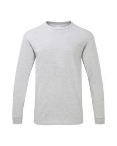 Gildan Herren T-Shirt Hammer, schwere Qualität, langärmlig