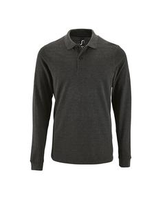 Sols Mens Perfect Long Sleeve Pique Polo Shirt