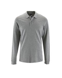 Sols Heren Perfecte Lange Mouw Pique Polo Shirt