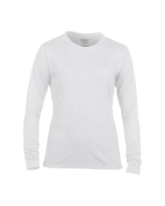 Gildan Damen Longsleeve / T-Shirt, Langarm, Rundhalsausschnitt