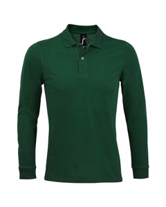 Sols Mens Perfect Long Sleeve Piqu Polo Shirt