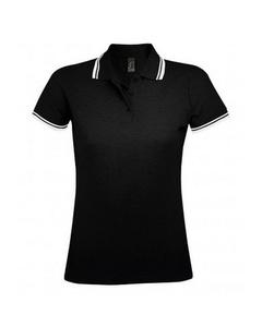 SOLS Damen Pasadena Pique Polo-Shirt, kurzärmlig