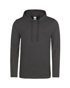 Awdis Just Hoods Mens Lightweight Plain Hooded Top